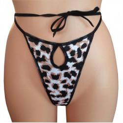 Leopard-String zum Schnüren