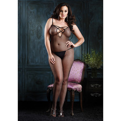 Fishnet Bodystocking - Plus Size