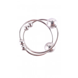 Fetish Fantasy Bull Rings Silver