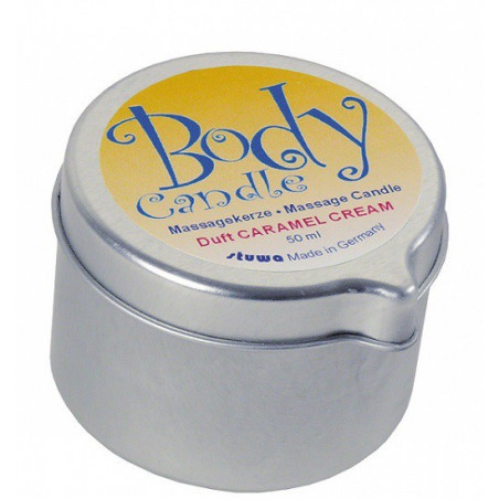 Body Candle Massagekerze Caramel Cream