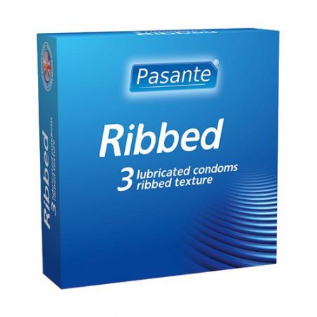Pasante Ribbed (3 Stk.)