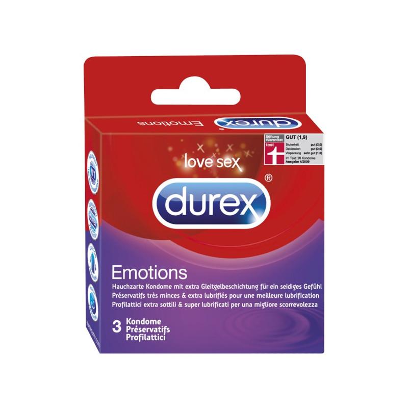 Durex Emotions (3 Stück)