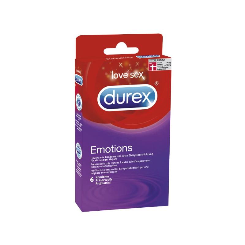 Durex Emotions (6 Stück)