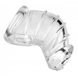 Flexibler Keuschheitskäfig – Transparent