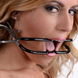 Rubber Coated Stainless Steel Jennings Gag