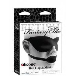Pipedream FF Elite Ball Gag - Black Large