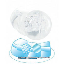 Clear FX Masturbator Aqua