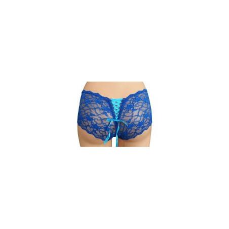 Hot Pants Spitze Blau