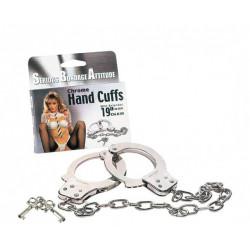 Handschellen mit langer Kette