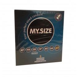 MY.SIZE Kondome 69 mm (3 Stück)