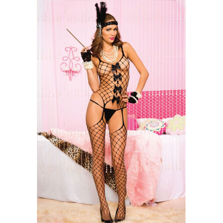 Grossnetz Bodystocking