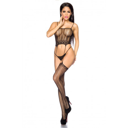 Straps-Bodystocking Ouvert