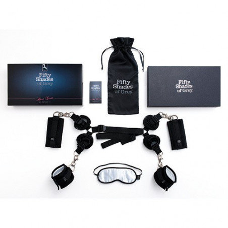 Fifty Shades of Grey - Hard Limits Restraint Under The Bed Kit