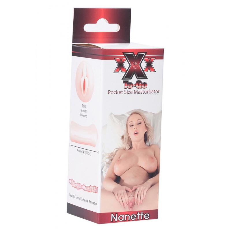 XXX to go - Pocket Size Masturbator Nanette