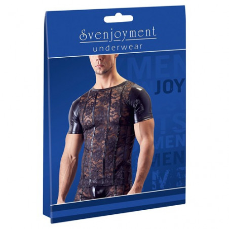 Shirt aus Spitze und Wetlook