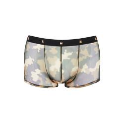 Pants mit Military-Print