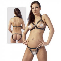 Zado Leder Bikini