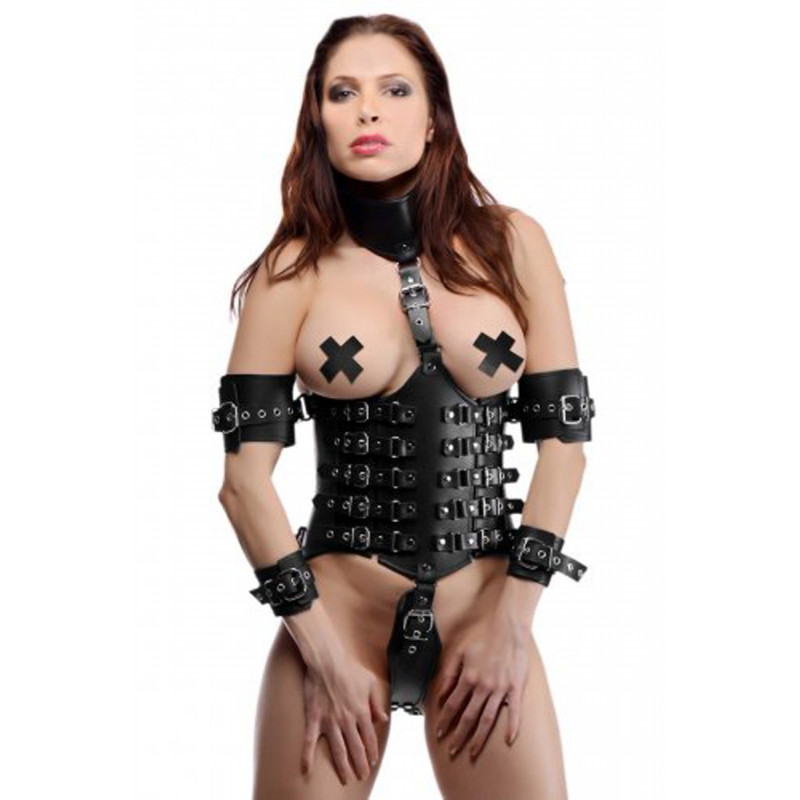 Ultimate Lockdown Female Waist - Strict Leather