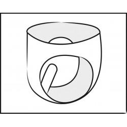 Latex-Slip mit aufpumpbarem Plug - LATEX