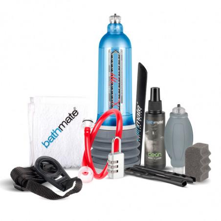 Hydromax Xtreme X50 Blau   Penispumpe   Bathmate