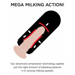 Vibrating Mega Milker - PDX Elite | Pipedream Extreme
