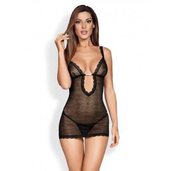 Sensual Mesh Body & String - Obsessive | LoveYou24 - Dessous Shop