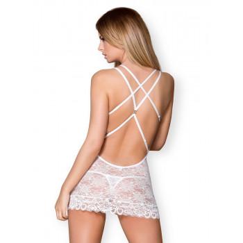 Lace Mini Dress mit String - Obsessive | LoveYou24 - Dessous Shop