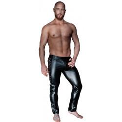 Lange Hose mit Schnürung - Noir Handmade