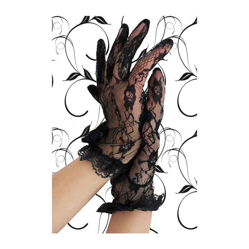 Spitzen-Handschuhe, kurz