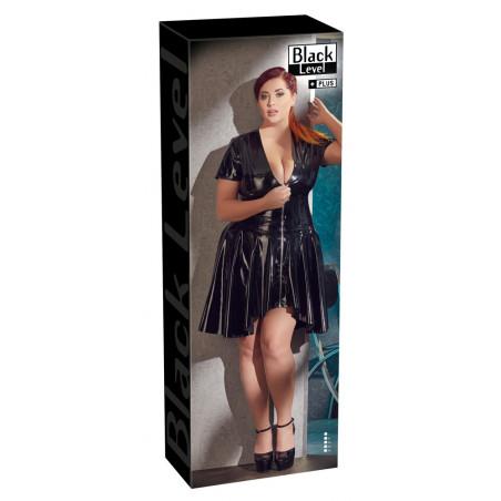 Lack-Kleid