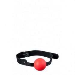Mundknebel mit Ball - Rot