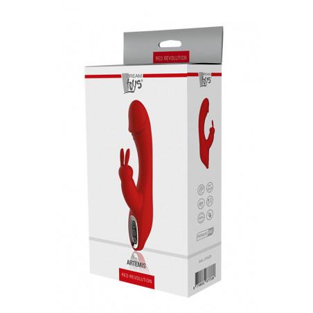 Artemis - Rabbit Vibrator - Red Revolution