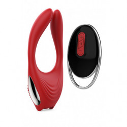 Eros - Vibrator mit Fernbedienung - Red Revolution