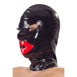 Latex Kopfmaske - Lips