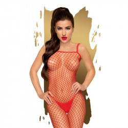 Body search (Rot) - Catsuit - Penthouse Lingerie