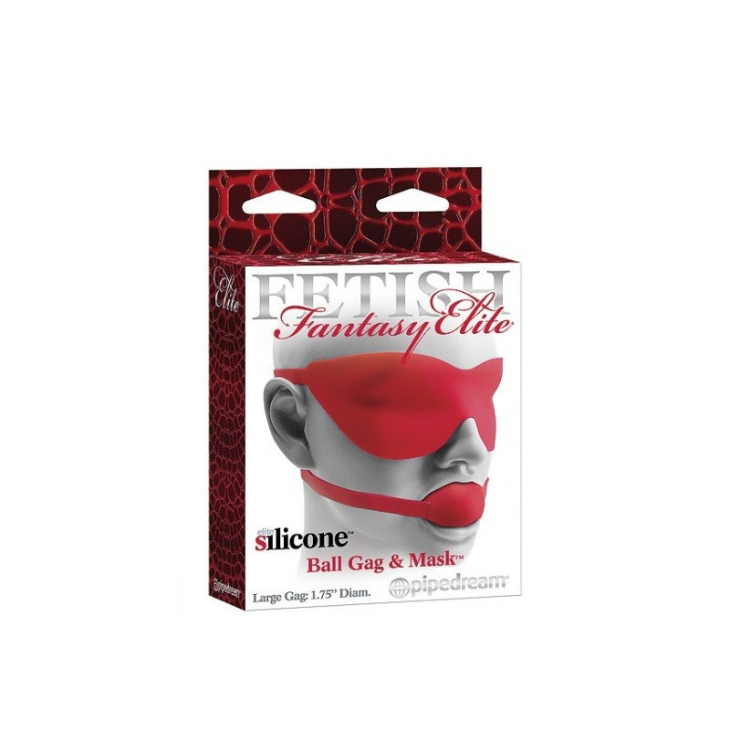 Pipedream FF Elite Ball Gag - Red Large
