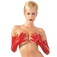Latex Handschuhe für Frauen | BDSM Kleidung